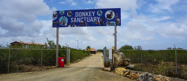 Ingang Donkey Sanctuary